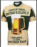 womens beer cycling jersey - FidgetFidget Bicycle Sportswear Short Sleeve Bike Shirt Beer Men/Women Cycling Jersey