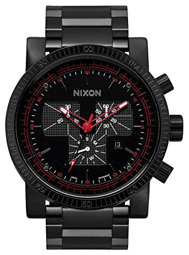 All Black The Magnacon SS II by Nixon