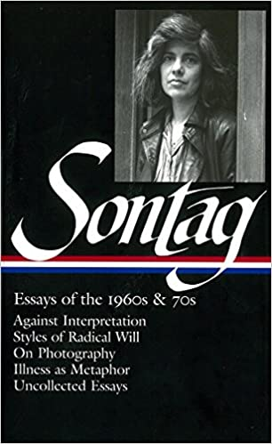 Amazon com susan sontag essays of the 1960s 70s loa 246