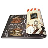 Art3d Premium Double-Sided Anti-Fatigue Chef Rug, Anti-Fatigue Comfort Mat. Multi-Purpose Decorative Standing Mat for the Kitchen, Bathroom, Laundry Room or Office, 18 X 30 by Art3d