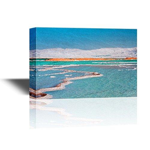 Abstract Seascape with Calm Sea near the Beach Gallery