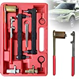 TBvechi 9pcs Engines Timing Tool Set, Car Engines Timing Locking Tool Set Kit for Jaguar/Land Rover 3.2 3.5 4.0 4.2 4.4 V8 AJ34