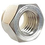 10-32 Nylon Insert Hex Lock Nuts, Stainless Steel