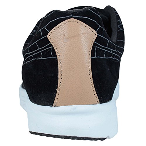Nike Mens Dagslända Läder Prm Mode Sneakers Mörkgrå