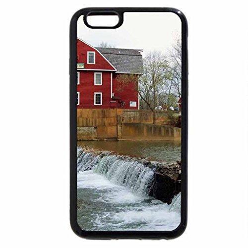 iPhone 6S Case, iPhone 6 Case (Black & White) - War Eagle Mills, Arkansas