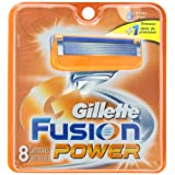 Gillette Fusion Power Replacement Cartridges, 8 Count- Packaging May Vary