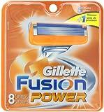 Gillette Fusion Power Replacement Cartridges, 8 Count