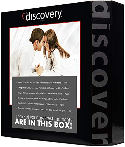 The discovery Game: Board Game for a Married Couple (Best Board Games For Married Couples)