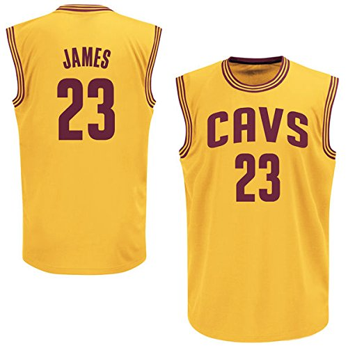 Mens LeBron James #23 Cleveland Cavaliers Jersey S