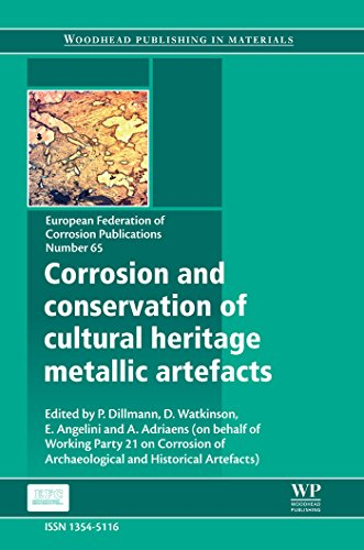 Corrosion and Conservation of Cultural Heritage Metallic Artefacts (European Federation of Corrosion (EFC) Series Book 65) por P Dillmann,D Watkinson,E Angelini,A Adriaens