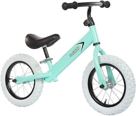 Bicicleta Sin Pedales Ultraligera Bicicleta para niños, bicicleta para correr para niños, regalo de cumpleaños para niños y niñas, bicicleta para aprendices con manillar y asiento ajustables: para niñ: Amazon.es: Hogar