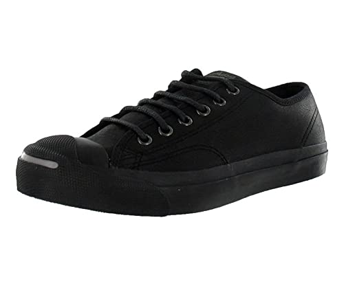 1f6730566fb2 Converse Jack Purcell Otr Leather Black Sz 4 M 5.5 W  Amazon.ca ...