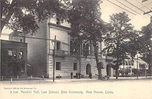 New Haven Connecticut Yale University Law School Antique Postcard K106920