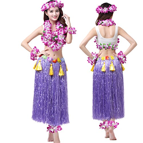 Valecos Hawaiian Hula Dance Costume Ballet Performance Cosplay