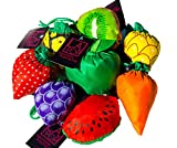 LA Pop Design Expandable Shopping Bags. Reusable Grocery Shopping Tote Bags That Are Eco-Friendly, Lightweight, Strong & Durable. Convenient Grocery Bags and Handy, Shopping Travel Bags -- 4 PACK!