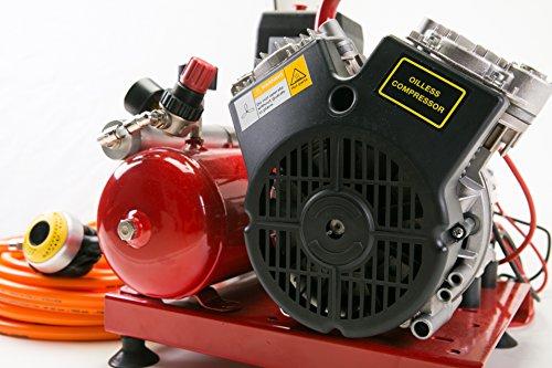 Nardi exreme 3 electric compressor 12v 24v 50 39 feet hose - Electric dive hookah ...