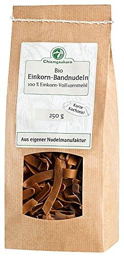 Chiemgaukorn Bio Einkorn Nudeln, 250 g, Bandnudeln