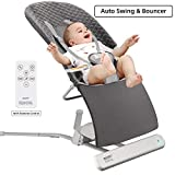 Baby Bouncer, RONBEI Baby Swing for Infants, Automatic Swing &...