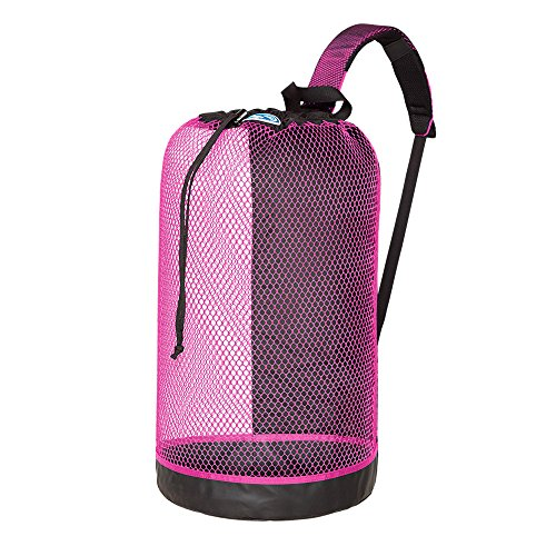 (Stahlsac B.V.I. Mesh Backpack - Black/Pink)