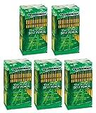 Ticonderoga VOHARA Woodcase Pencil, HB #2, Yellow Barrel, 96/Pack 5 Pack