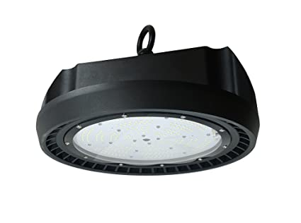 Eitelux EIT-DISK200W Campana LED 200 W, Negro 339 x 223 mm: Amazon ...