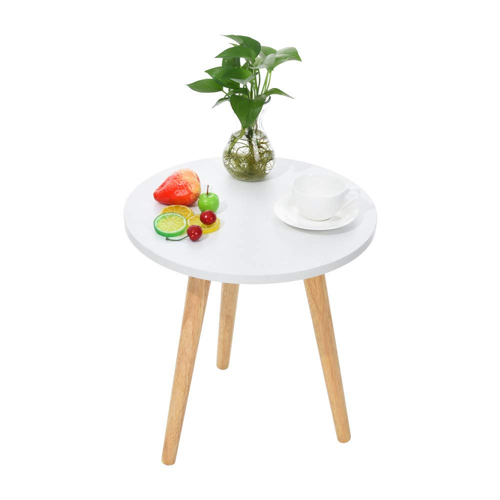 MatureGirl Nesting Tables Coffee End Tables Night Stand Modern Minimalist Multi-Purpose Accent Furniture, Shipping from USA (S: 42×40cm/16.5×15.47inch)