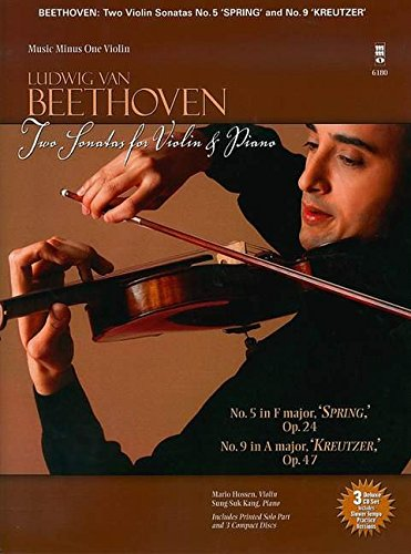 Beethoven - Two Sonatas for Violin and Piano (Music Minus One (Music Minus One Violin)