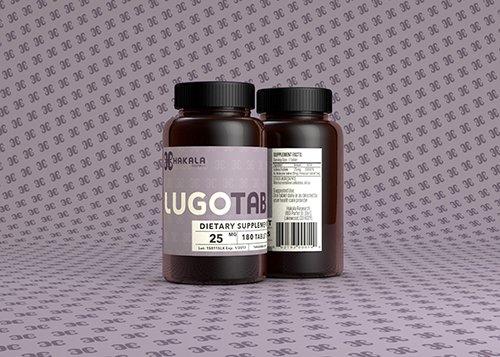 LugoTab 25 mg - 180 tablets