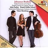 Brahms: Concierto Violin Y Doble Concierto / Fischer, Müller-Schott