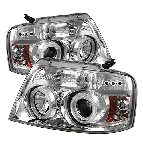 Spyder Auto PRO-YD-FF15004-CCFL-G2-C Chrome LED Projectio...