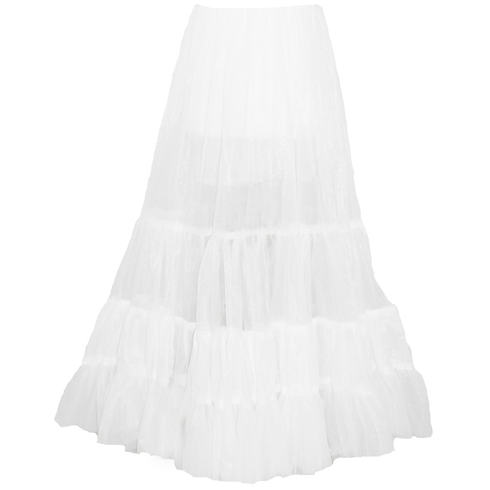 Little Darlings Christening Girls White Netted Underskirt to Be Worn Under Gowns