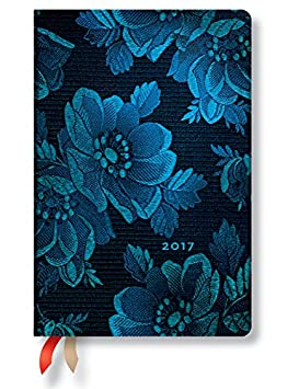Amazon.com : Blue Muse Mini - 2017 Paperblanks Weekly ...