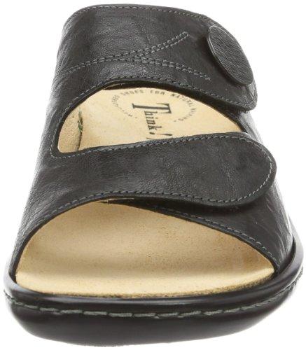 Noir Claquettes Femme Chaussures Camilla 09 De Think tgXqX