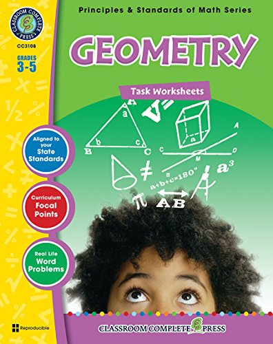 Geometry - Task Sheets Gr. 3-5 (Principles & Standards of Math) - Classroom Complete Press
