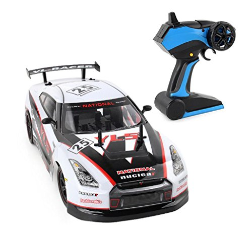 E Scenery Jumbo 1 10 2 4Ghz 4Wd Radio Rc High Speed Racing Car  Remote Control Car Short Course Rtr Racing Off Road Truck Vehicle With Superior Shock Absorption System  Rechargeable Battery  White