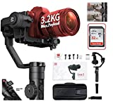 Zhiyun Crane 2 II 3-Axis Handheld Gimbal Stabilizer Follow Real Time Focus Control OLED Display for DSLR and Mirrorless Camera up to 7 Lb, for Canon 5D2, 5D3, 5D4, Nikon D Free 32GB SD Card