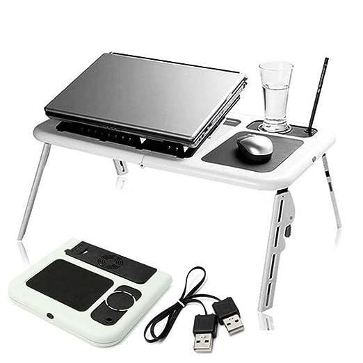 Qiming-home Escritorio portátil portátil Plegable Ordenador ...