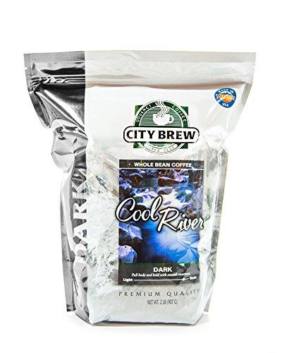 City Brew Coffee, Cool River Espresso, 2 lb, Whole Bean