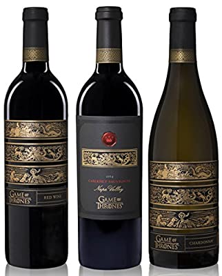 Game Of Thrones 3 Bottle Mixed Wine Pack, 3 x 750mL