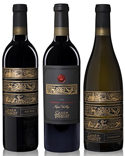 Price comparison product image Game Of Thrones 3 Bottle Mixed Wine Pack, 3 x 750mL