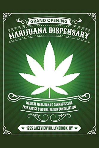 Marijuana Dispensary Medical Marijuana and Cannabis Club Art Print Mural Giant Poster 36x54 ()