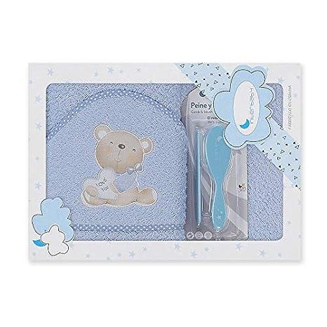 Capa de baño bebé + Cepillo y peine, Love you (Disponible en 7 ...