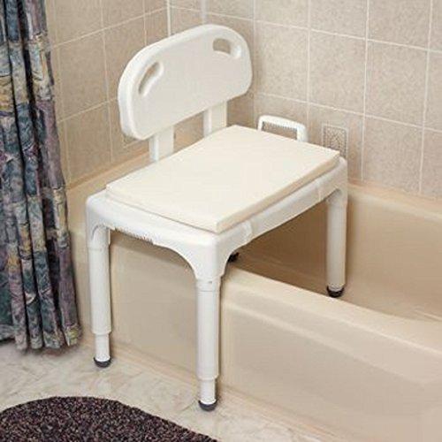 """Rolyn Prest Foam/Mesh Bath Cushions. 25"""" x 16"""" Shower Cha..."""