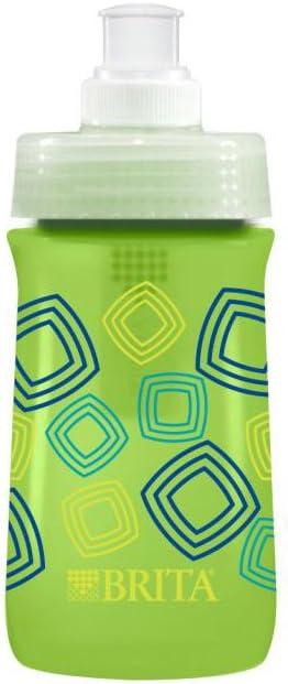 Brita Soft Squeeze Filtre à Eau Bouteille Pour Enfants Bleu Marine Sport 13 oz environ 368.54 g Pack 2
