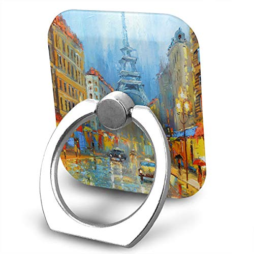 - Phone Finger Ring Paris Night Artistic Signed Print 360 Degree Rotation Foldable Set Compatible with Most of Smartphones Tablet and Case Sold