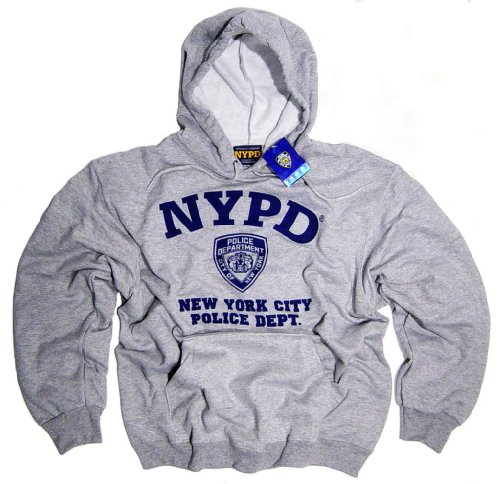 NYPD Shirt Hoodie Sweatshirt Authentic Clothing Apparel Officially Licensed Merchandise by The New York City Police Department Medium