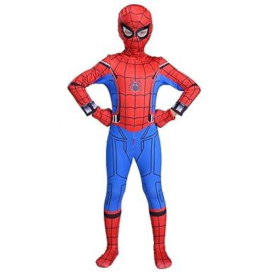 Boy Spiderman Onesies Cosplay Traje De Fiesta Infantil De ...