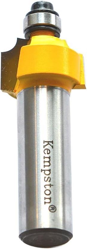 3//4-Inch Cutting Diameter by 3//8-Inch Cutting Length 1//8-Inch Radius 1//4-Inch Shank Kempston 302011 Beading Bit