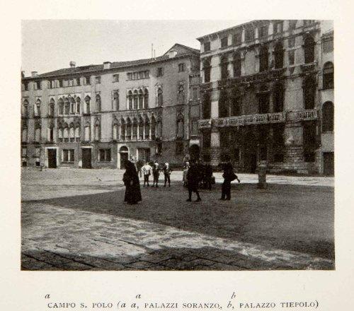 1907-print-campo-s-polo-palazzi-soranzo-tiepolo-venice-italy-cityscape-balcony-original-halftone-pri