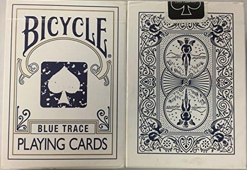 トランプ珍しい自転車ブルーTRACEデッキ Rare Bicycle BLUE TRACE Deck Playing Cards